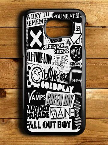 5sos Coldplay Fall Out Boy The Vamps 1975 Samsung Galaxy S6 Case