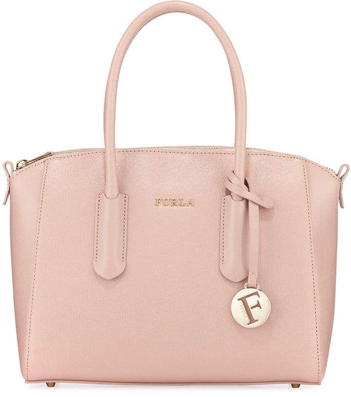 new high new appearance best website Furla Tessa Small Saffiano Leather Satchel Bag | Satchel bags ...