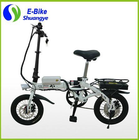48 000 руб Shuangye 14 дюймов 36V10AH мини складной электрический велосипед для России купить на AliExpress