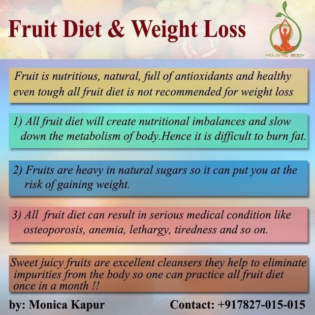 All Fruit Diet