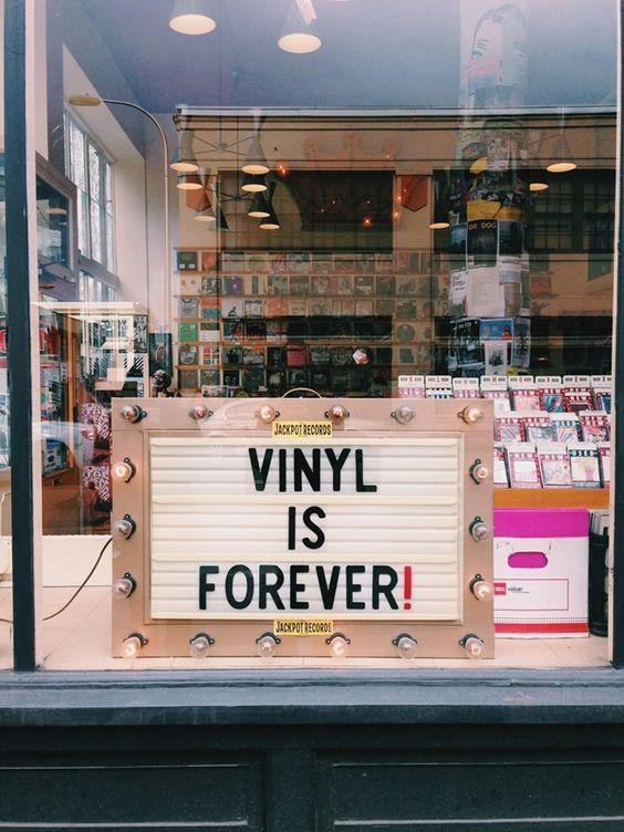 Vinyl is Forever!