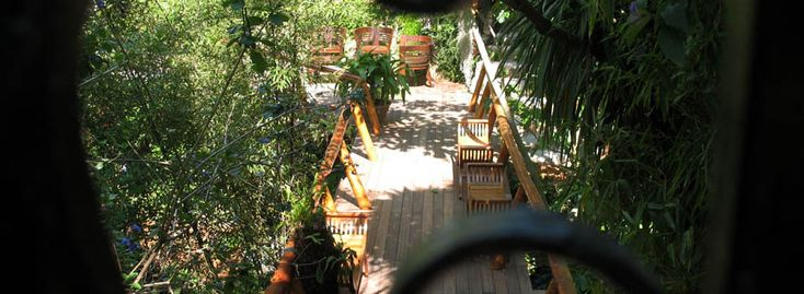 Sansehagen, en fantastisk botanisk hage i Altea. Driver også Bed&Breakfast.
