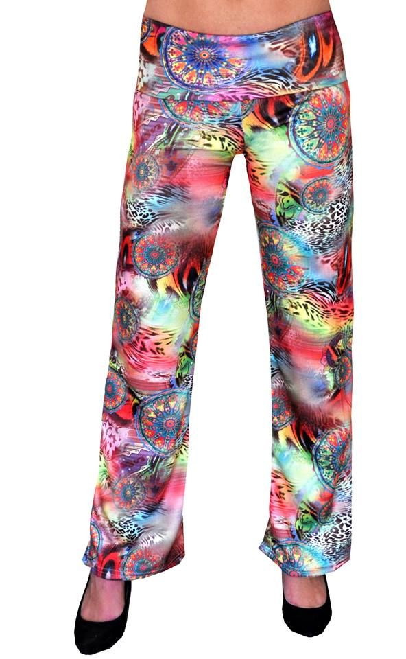 Hot New Item Ponte Pants by EverWear  Bring some colour and funk into your outfit with this great pair of pants.  The pants have a comfortable fit with a fold over band around the hips.  Available in a range of prints.