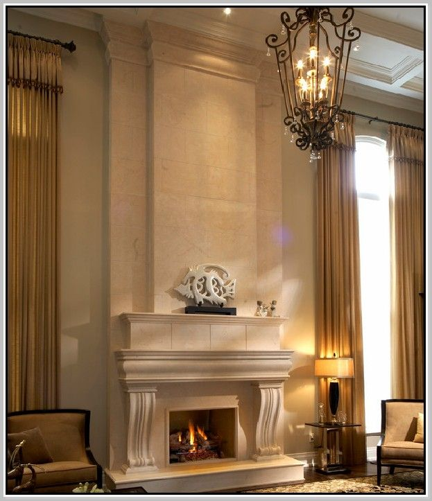 Stacked Stone Fireplace Surround 65 best mantels images on pinterest | stone fireplaces, mantels