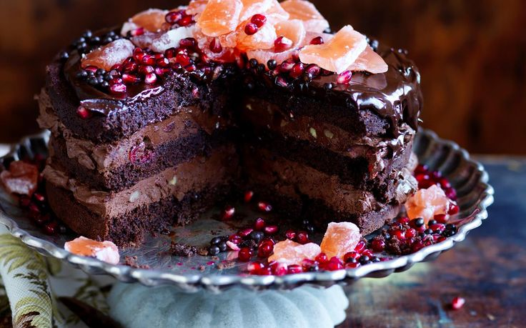 Rich rocky road mousse cake recipe - By Australian Women's Weekly, Indulge your sweet tooth with this decadent rocky road mousse cake. One slice and you'll be taken to dessert heaven...