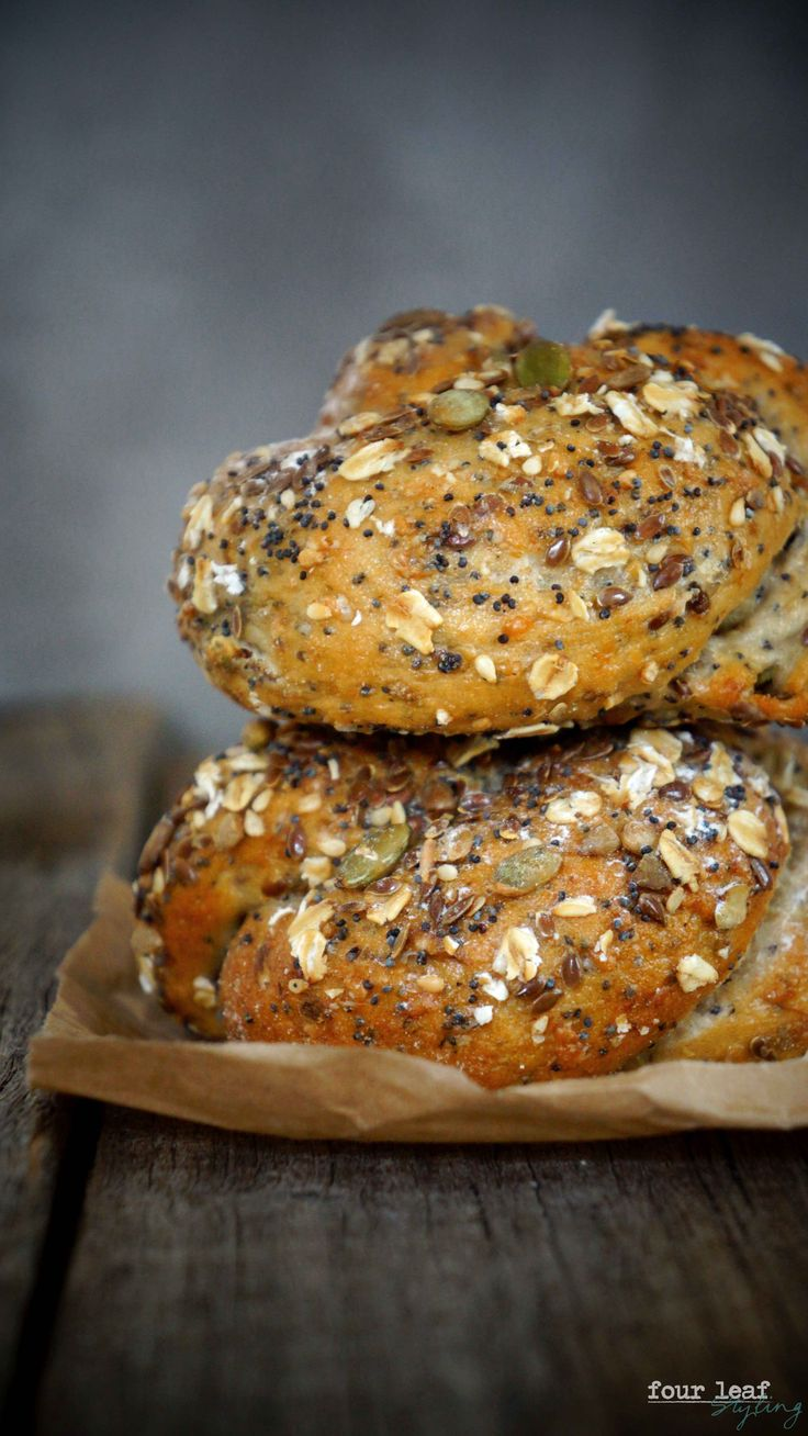 multigrain and seed bread rolls | Four Leaf Styling