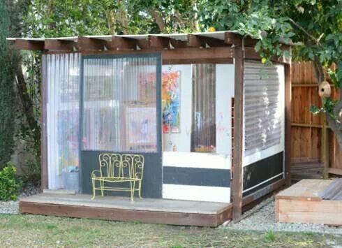 Beau Backyard Kids Art Studio