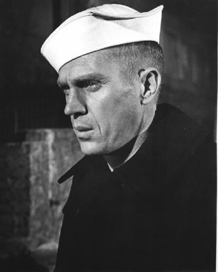 Steve McQueen as Machinist's Mate 1st Class Jake Holman in The Sand Pebbles 1966.