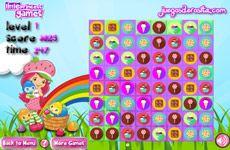 Juegos de Fresita.com - Juego: Fresa caramelo del partido - Rosita Fresita Frutillita Tarta de Fresa