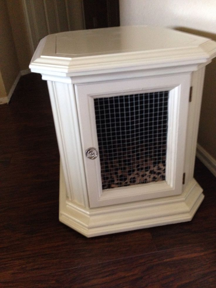 25 best ideas about diy dog crate on pinterest dog for Diy crate furniture
