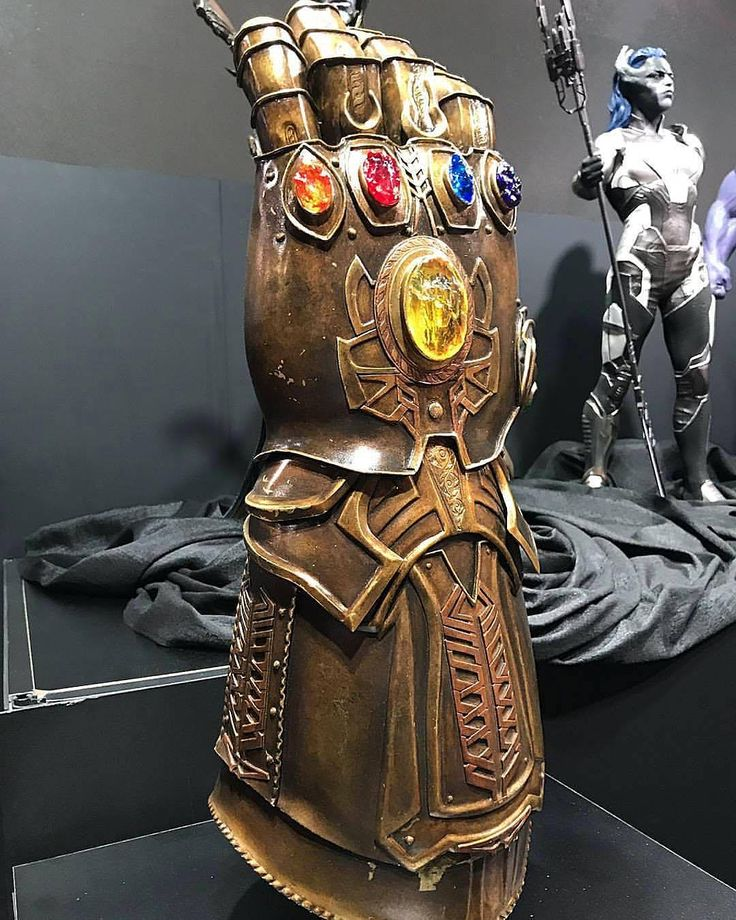 Infinity War Movie Concept Art of Infinity Gauntlet and Infinity Stones, See where all the Infinity Stones are to start Infinity War - DigitalEntertainmentReview.com