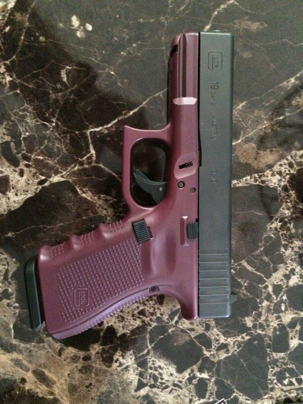 Glock 19 Gen 4 in maroon Find our speedloader now! http://www.amazon.com/shops/raeind