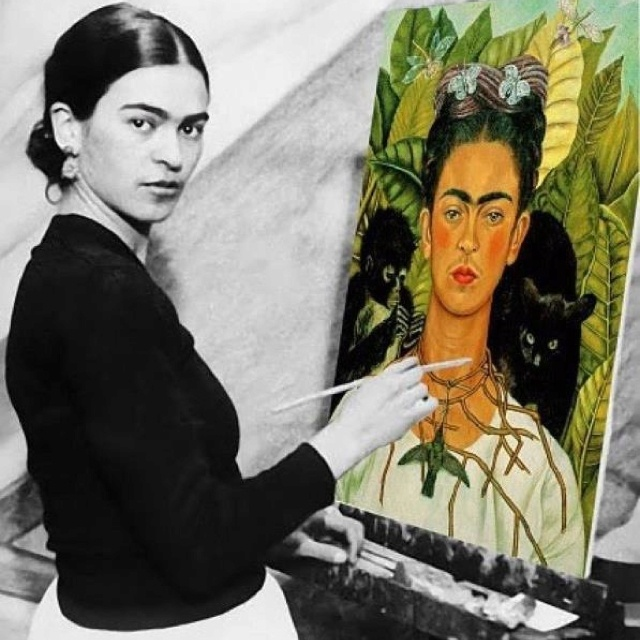 the revolutionary artist frida kahlo 2002-11-4 it's not hard to see why so many actresses were dying to play frida kahlo the great mexican artist and bohemian poster girl led a  this revolutionary.