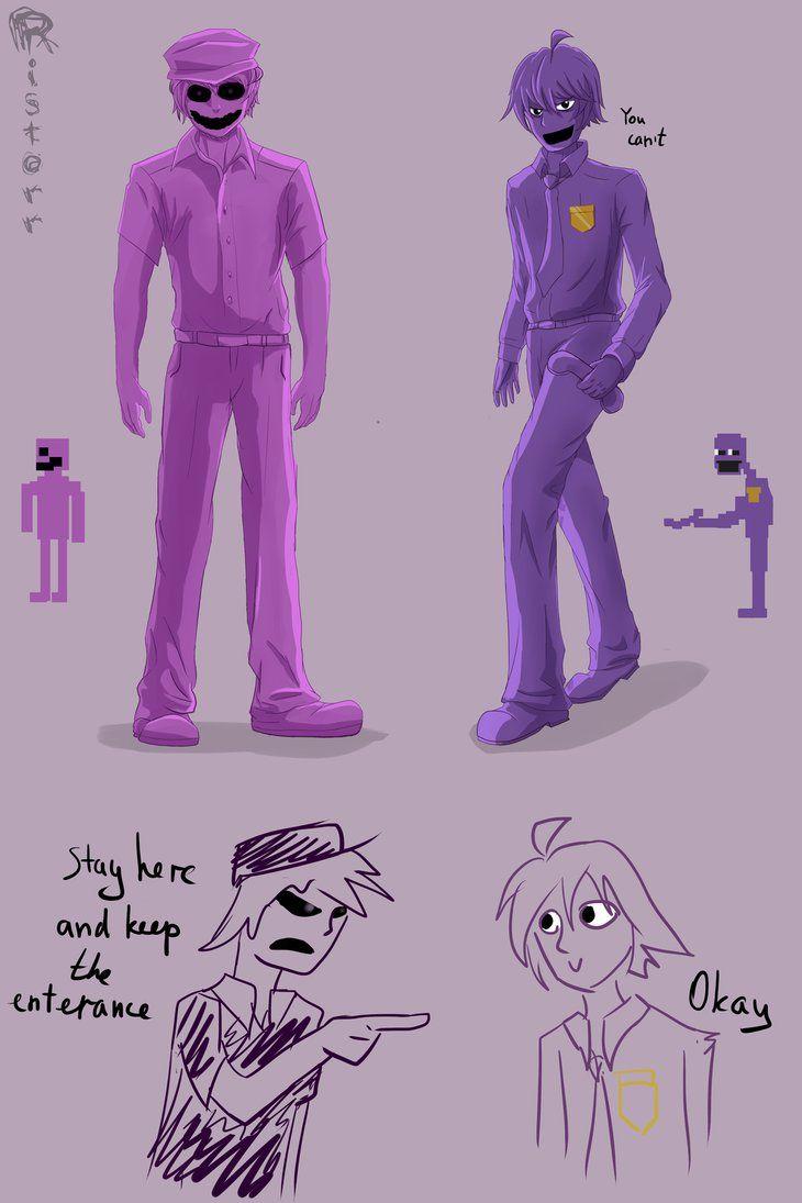 Phone guy x purple guy fanfic lemon - Purple Theory By Ristorr Deviantart Com On Deviantart