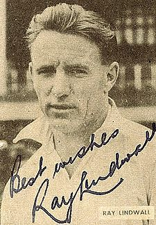 The Gentle Demon ! He was one of the greatest of all fast bowlers of Cricket. The opposition shuddered at the sight when he was bowling, yet he was a human first and foremost. He was more gentleman than a fast bowler. A tribute to Ray Lindwall of Australia