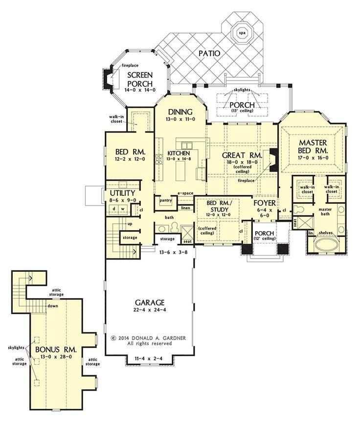 21 best House Plans images on Pinterest | Dream house plans, House ...