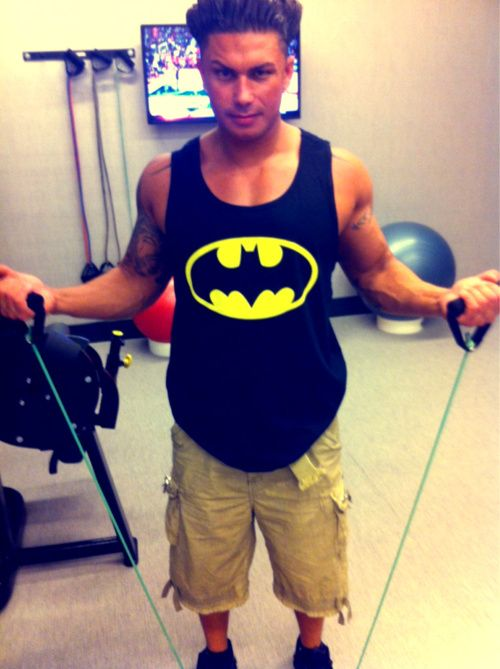 2 of my fav. Things Pauly d and Batman