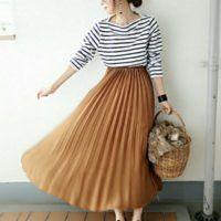 GUで探す秋のスカートコーデ♪今年の自分に似合うスカートをプチプラでゲットしませんか?