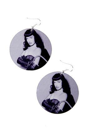 Earrings Bettie Page Whip