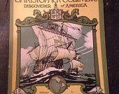 John Hancock Mutual Life Insurance Gove Away, Christopher Columbus Discover Of America Give Away Book,  Advertising For John Hancock