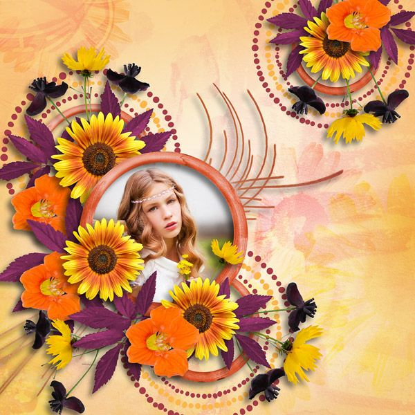 """""""Summer sunset"""" by Misi Scrap and Jessica art-design, http://www.digiscrapbooking.ch/shop/index.php?main_page=product_info&cPath=22_26&products_id=20076 photo Lena Evdokimova use with permission"""