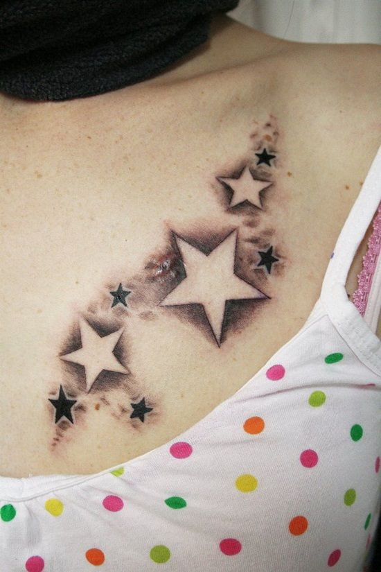 30 Star Tattoos for Men and Women