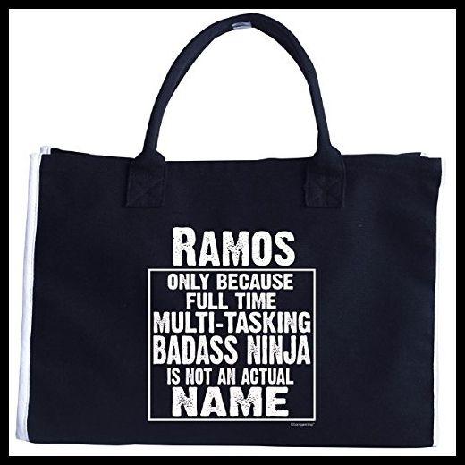 Ramos Cos Multi-tasking Ninja Is Not An Actual Name - Tote Bag