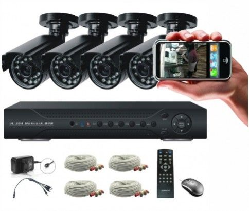 A security device comes in handy when you want to protect your love ones or valuable asset from theft. Ikoala.com.au offers a high tech surveillance system with 4 weatherproof IR cameras for doing that at just $279.00.