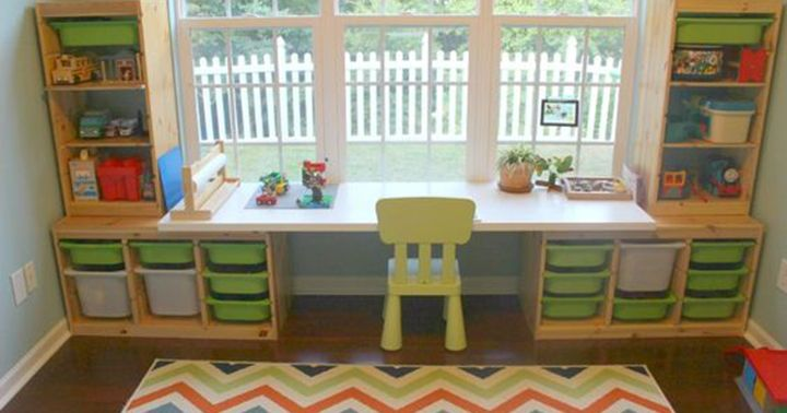 Een bureau hoort er helemaal bij, want dit kan je voor meerdere doeleinden gebruiken. Je kind kan er rustig aan leren of lekker lezen. Ook kan er goed aan gespeeld of geknutseld worden. Heb je nog …