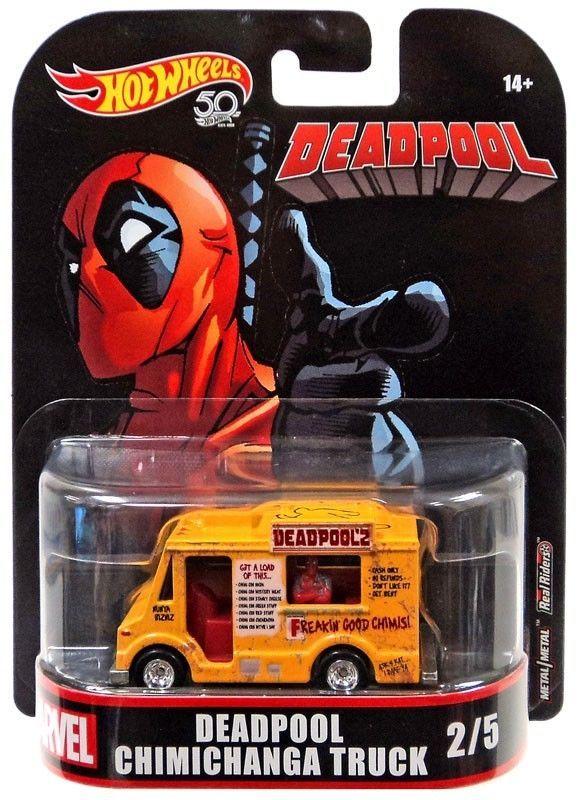 Hot Wheels Marvel Deadpool Chimichanga Truck Die-Cast Car