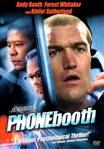 Phone Booth, starring Andy Booth