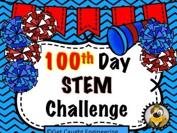 Need an activity for the 100th Day? STEM to the rescue! Our quick energizer will delight your students. Easy instruction, easy materials, and easy clean upand easy fun on the 100th Day. This lesson is also part of our January Bundle. Get Caught Engineering in January You might also like Ready, SetSTEM!, our STEM Student notebook to support your program.