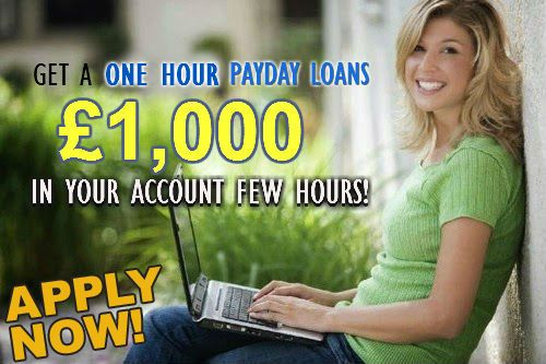 Get Money Within One Hour Despite Bad Credit Score | One Hour Payday Loans- No Credit Check Loans