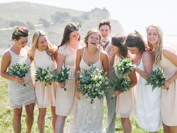1000+ Ideas About Cream Bridesmaid Dresses On Pinterest