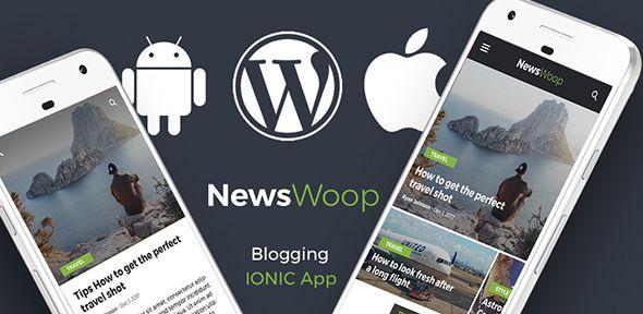 Wordpress News Android App + Wordpress blog iOS App | IONIC