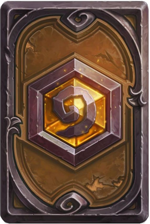 The goal of every Hearthstone player. The Legendary card back. For true legends.