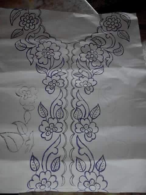 رمجموعة من رشمات الطرز للإفادة رشمات الطرز