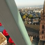 Die schönsten Volksfeste: Herbstmesse in Basel, Basel vom Riesenrad aus
