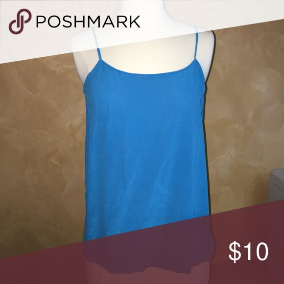 Blue camisole Simple bright blue cami! Tops Camisoles
