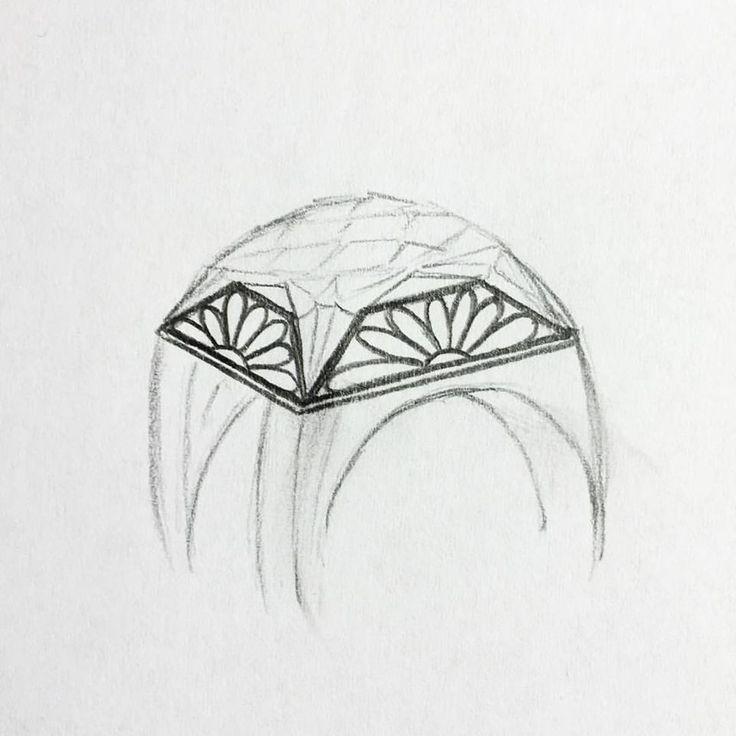 Aceasta ar fi etapa a doua în procesul creatiei bijuteriilor Sabion, pentru ca prima etapa nu este un palpabila, este imaginația designerului.   Bijuterii cu suflet manufacturate în România.