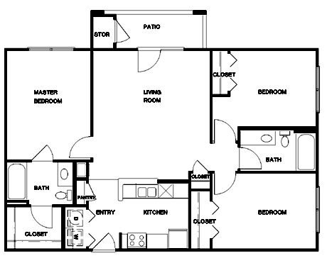 open floor kitchen 1200 square foot open floor plans three bedroom placed 1200