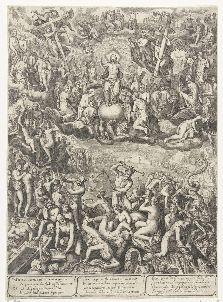 Laatste oordeel, Barbara van den Broeck, 1649