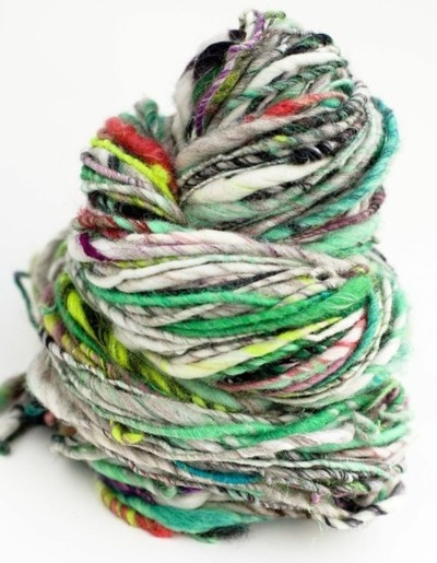 Organic colors yarn