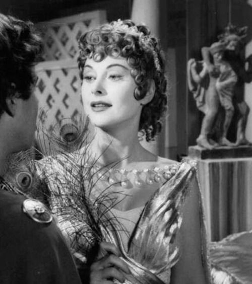"""Hedy Lamarr as Helen of Troy in """"The Loves of Three Queens"""" (1954)"""