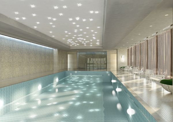 Swimming Pool At Chuan Spa The Langham Chicago Opening Summer 2013