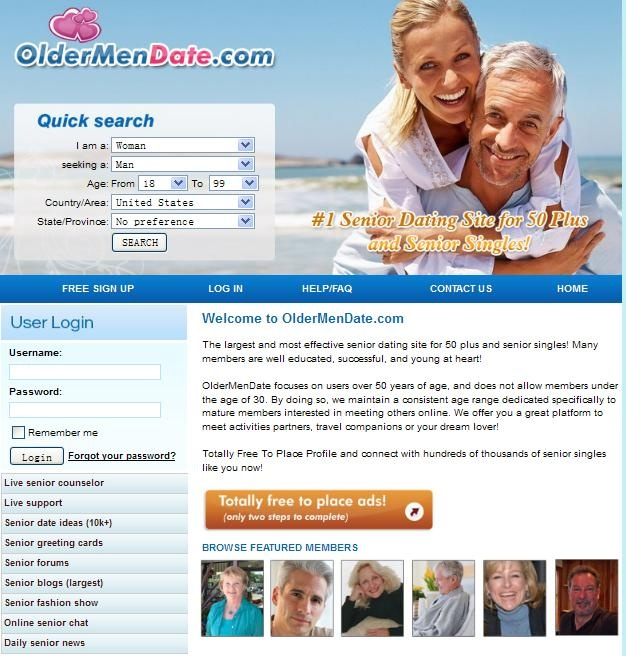 Online dating sites for older adults