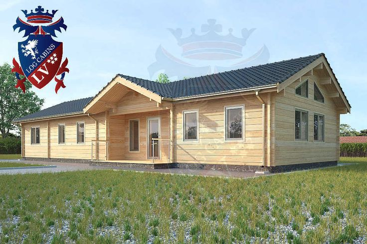6 7m X 18m 4 Bedroom Twinskin Residential Cabin Glulam By Www. 4 Bedroom Log Cabin   Home Design
