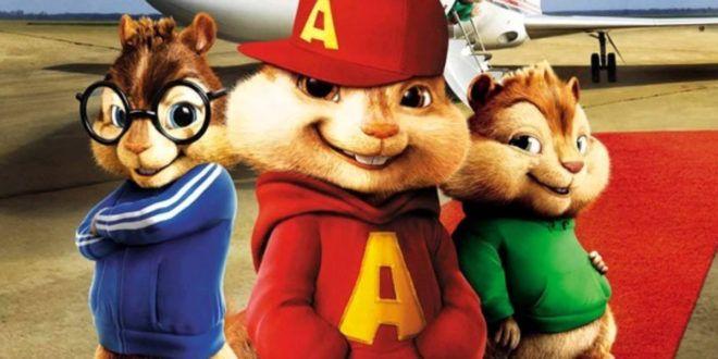 Colora e ritaglia i personaggi del simpatico cartone animato Alvin Superstar