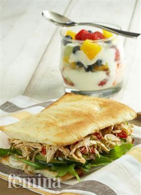 Shredded Matah Chicken Sandwich Femina