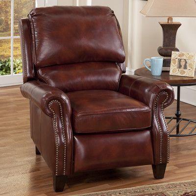 Barcalounger Churchill II Recliner Upholstery: Art Burl, Type: Power